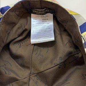 Emilio Pucci Accessories - Authentic Emilio Pucci geometry waterproof raincap